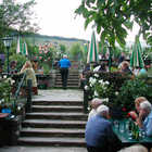Wine Garden near Vienna, Austria