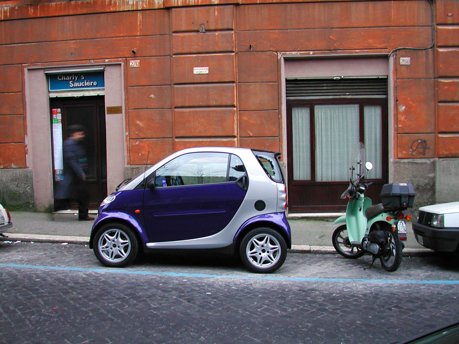 Smart Car in Paris, France
