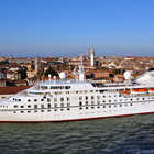 Cruise Ship at Venice, Italy