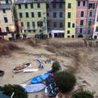 Piazza Marconi During 10/25/2011 Flooding, Vernazza, Cinque Terre, Italy