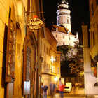 Street at Night, Cesky Krumlov
