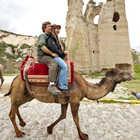 Camel Ride, Cappadocia, Turkey