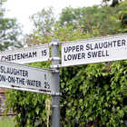 Road Sign, Cotswolds, England