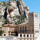 View of Montserrat, Spain