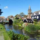 View of Marken, Netherlands