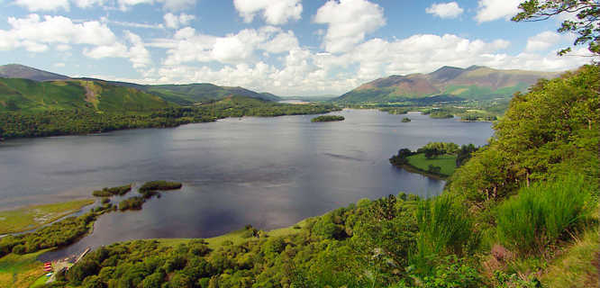 Derwentwater, Lake District, England
