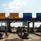 Italian toll booths