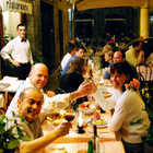Restaurant, Rome, Italy