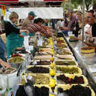 Market with Olives, Arles, Provence, France