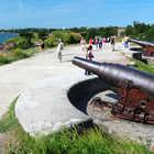Soumenlinna Fortress Cannons , Helsinki, Finland