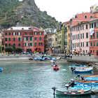 Pre-Disaster Harbor, Vernazza, Cinque Terre, Italy