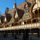 Hospice Exterior, Beaune, Burgundy, France