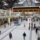 Train Station Interior, London, England