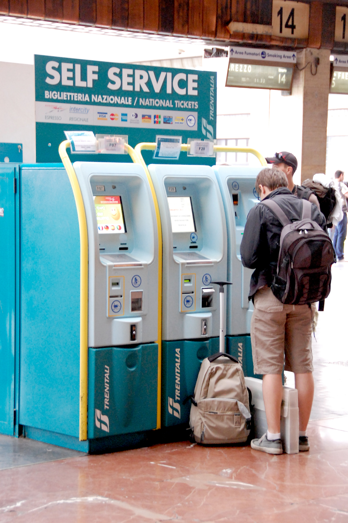 Train Ticket Machines, Italy