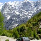 Roadside View of Julian Alps, Slovenia