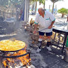 Making Paella, Nerja, Costa del Sol, Spain