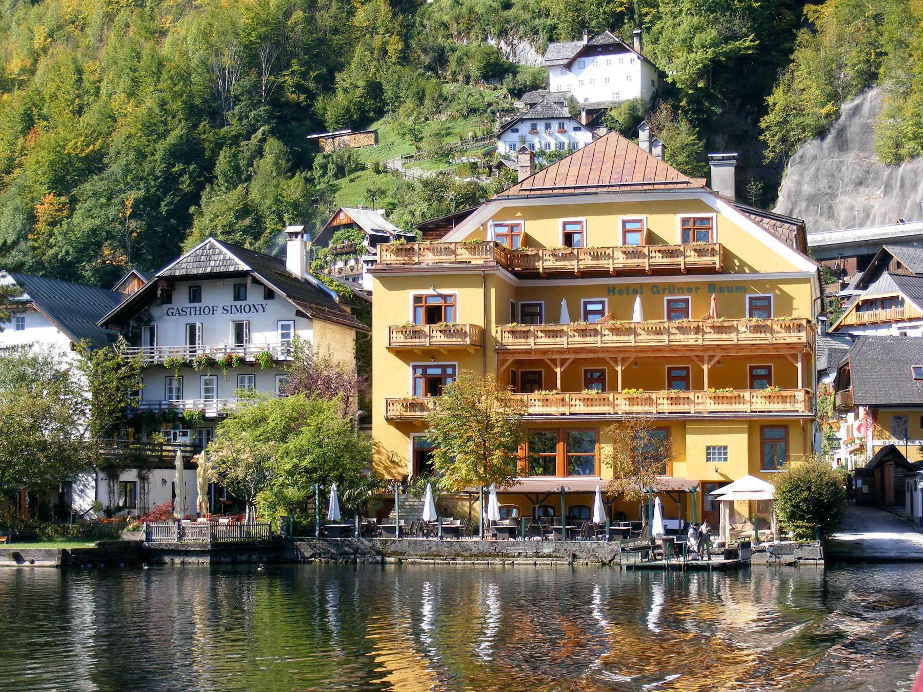 Hotel Exteriors, Hallstatt, Austria