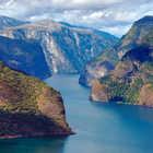 Stegastein view of Sognefjord, Norway