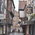 The Shambles is York's atmospheric old butchers' quarter