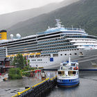 Cruise boat in Norway
