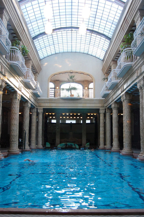 Gellert Baths Interior, Budapest, Hungary