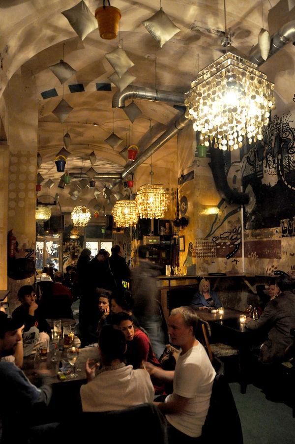 Ruin Bar Interior, Budapest, Hungary