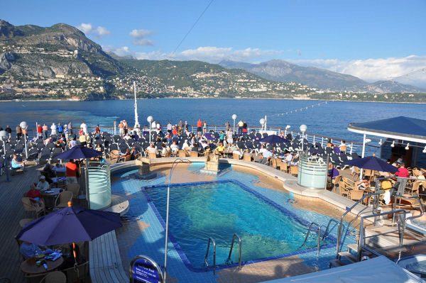 Mediterranean Cruise Ship Pool