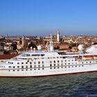 Cruise Ship at Venice, Italy