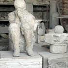 Cast of Disaster Victim, Pompeii, Italy