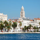 Waterfront View, Split, Dalmatian Coast, Croatia