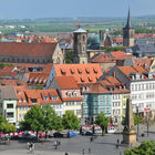 View of Erfurt, Germany