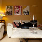 Traveler in Room, Montone, Italy