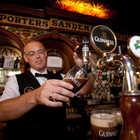 Bartender Pouring Guinness, Belfast, Northern Ireland