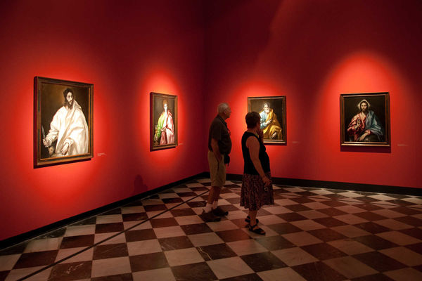 El Greco Museum Interior, Toledo, Spain