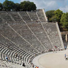 Amphitheater of Epidavros, Peloponnese, Greece