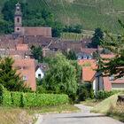 Route du vin village, Alsace, France