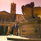 rome-trastevere-piazza-santa-maria