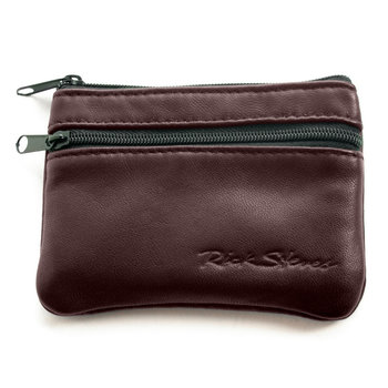 Plum Lambskin Travel Wallet